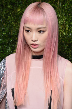 Pastel hair colours for Spring