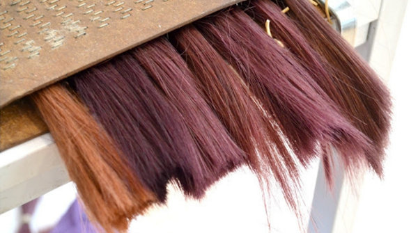 color matching hair extensions
